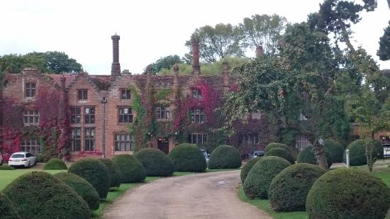 Seckford Hall: Front of the hall