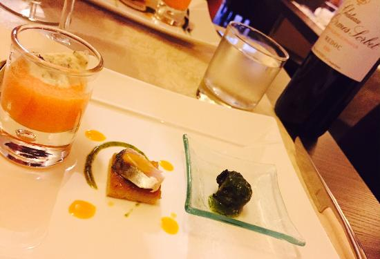 Restaurant Akashi : Amuse-bouche
