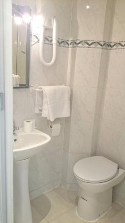Super Hotel: SDB côté sanitaire