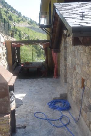 casa rural borda patxeta barbacoa exterior
