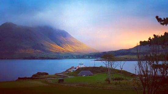 Isle of Raasay, UK: view from the hotel