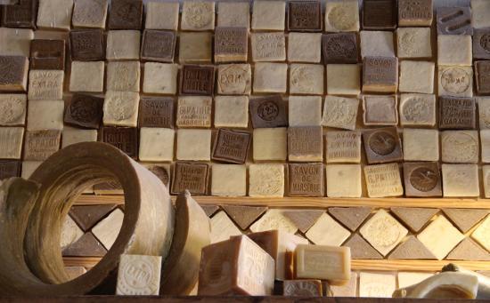 Mur de savon picture of savonnerie rampal latour salon de provence tripadvisor - Bernard philibert salon de provence ...