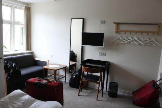 AnsGarhus Motel: zona soggiorno