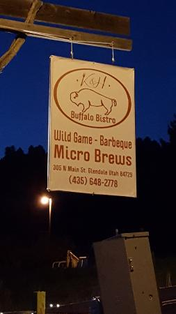 Wild Boar Bistro: Outside sign
