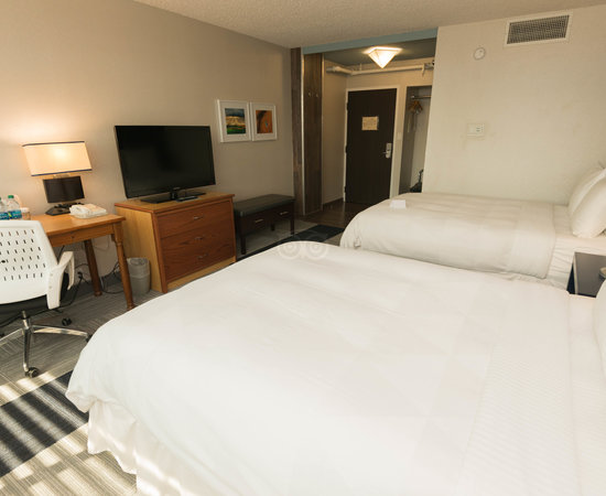 The Deluxe Room (Two Queen Beds) at the The Rushmore Hotel & Suites