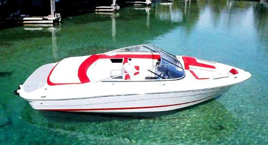 Rapid City, MI: Ski Boat Rental-20' Four Winns