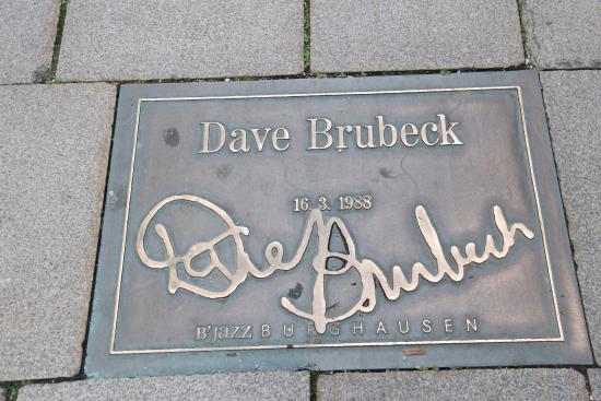 Gruben: Signature on Burghausen's B Jazz Street