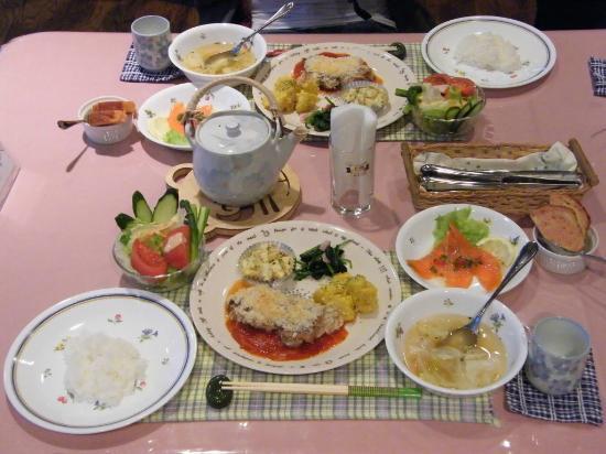 Biei Potato no Oka : Dinner