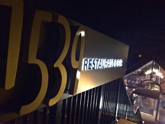 1539 Restaurant & Bar: Restaurant Entrance