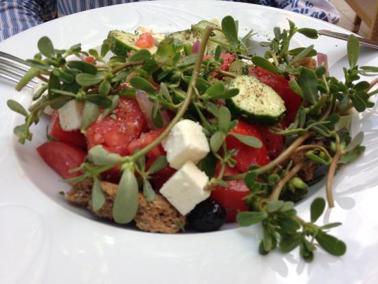 Skalani, Griechenland: Griechischer Salat