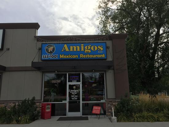Amigos Mexican Restaurant Front Door