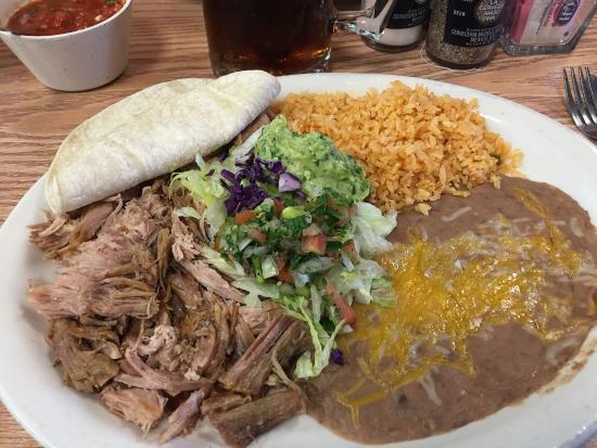 Amigos Mexican Restaurant Pork Carnitas