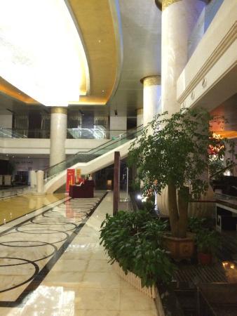 Yuhuan County, Kina: Холл отеля