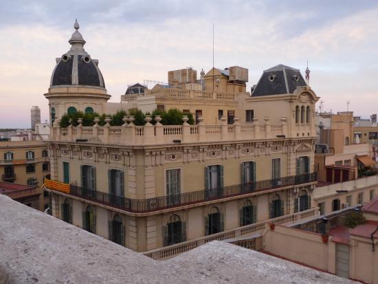 Hotel Ohla Barcelona: View from Terrace