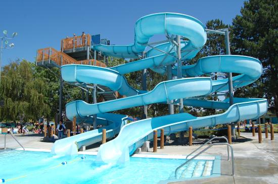 two water slides picture of surf n slide water park moses lake rh tripadvisor com