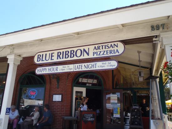 Blue Ribbon Artisan Pizzeria : Great Food!