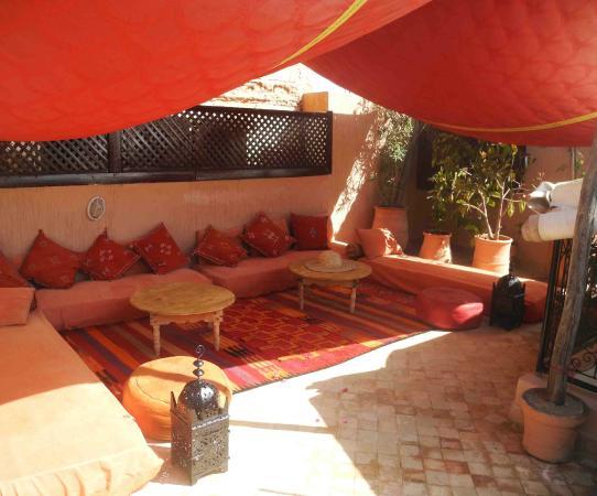 Riad Linda: Roof Terrace