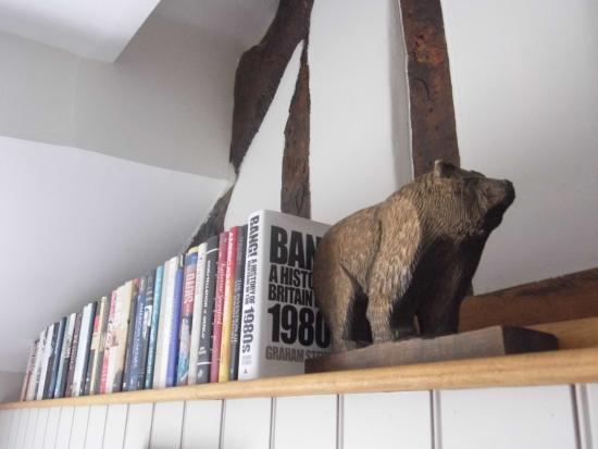 The Bear Bed and Breakfast: Bear bookend