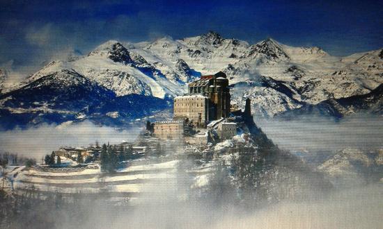In inverno - Foto di Sacra di San Michele, Sant\'Ambrogio di Torino ...