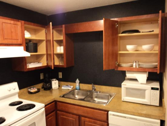 kitchen area with dishes silverware and cookware picture of rh tripadvisor com