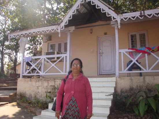 Panchvati: A view of cottage, where we stayed