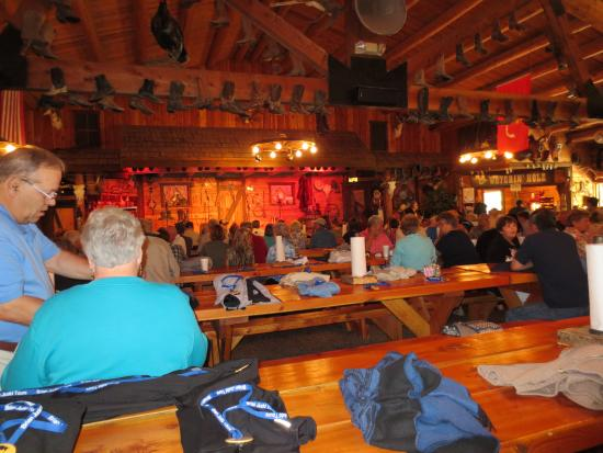 Bar J Chuckwagon Supper & Western Music Show: dinning hall
