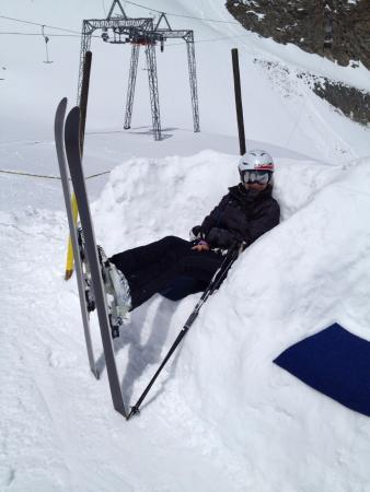 Stubaier Gletscher: Rest in Snow