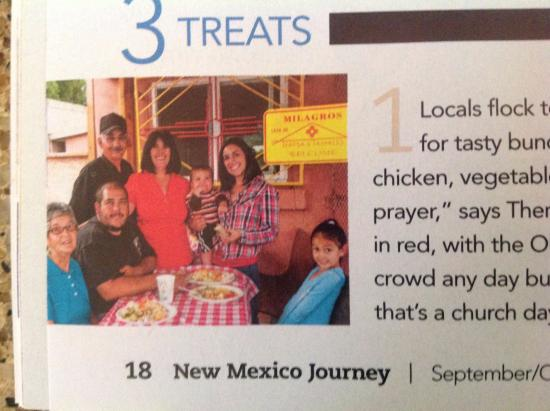 Teresas Tamales: We were pictured on New Mexico Journey
