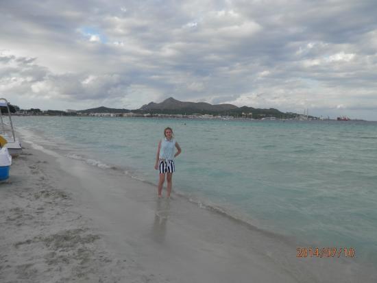 Aucanada Beach : Первый день на пляже