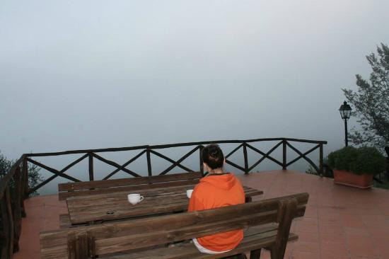 Rocca di Cispiano: Morning