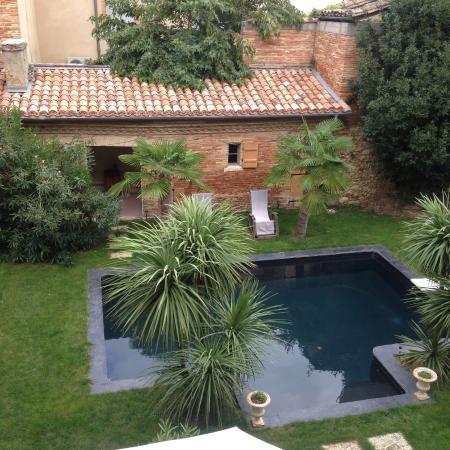 Beaumont de Lomagne, Francia: la piscine