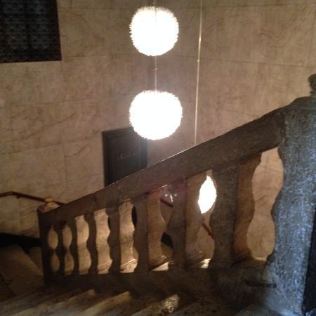 Beaumont de Lomagne, Francia: l'escalier