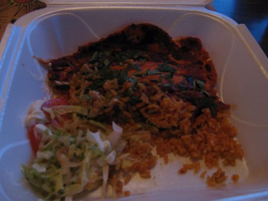 """LaFiesta Azteca: """"My Leftovers from the Pollo Al Carbon"""""""