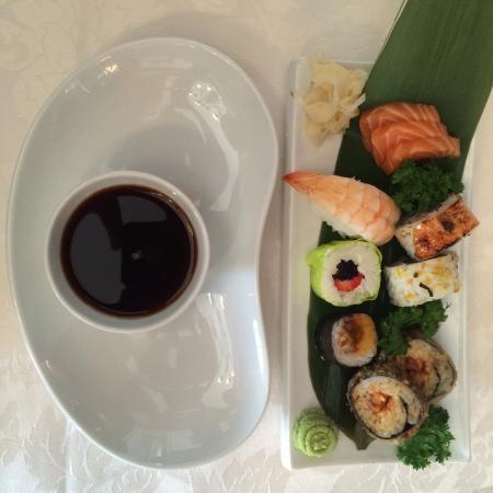 restaurante homenagem sushi perfecta comida