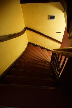 Hotel Retman : schody