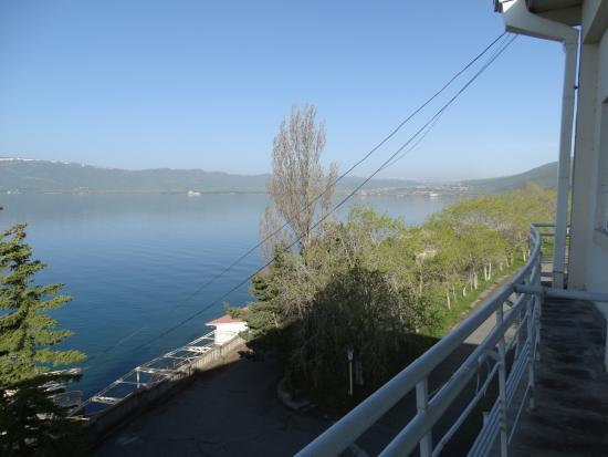 Chambarak, Armenia: Uitzicht vanaf het balkon