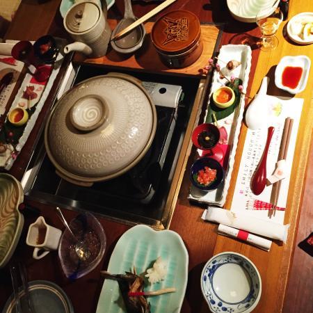 Ryokan Sanjiro: Dinner. Or was it breakfast?