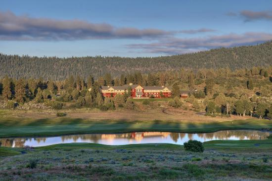 The Ruddy Duck Restaurant At Running Y Ranch Resort Exterior View Of Lodge And