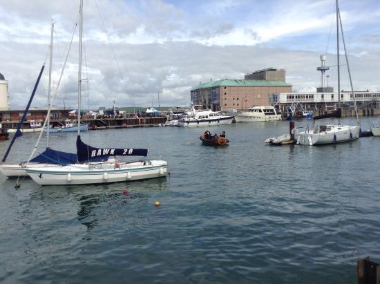 Weymouth, UK: along the waterfront