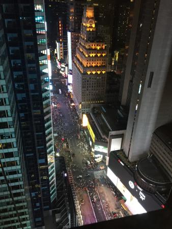 42nd floor of doubletree suites by hilton overlooking times square rh tripadvisor com