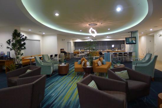 SpringHill Suites by Marriott Sacramento Roseville: lobby