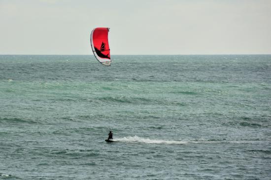 Cocoa Beach Pier Kitesurfing