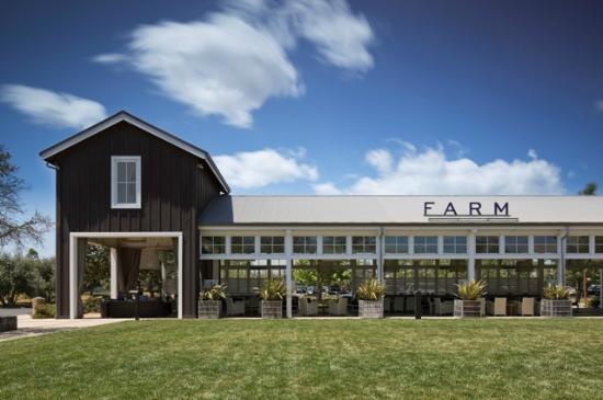 Farm interior picture of the farm at carneros inn napa for Farm at carneros inn