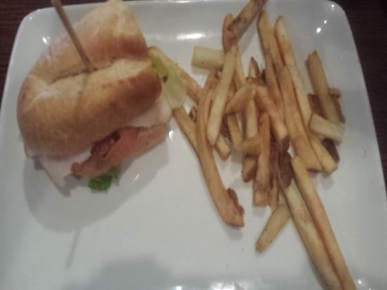 TGI Friday's: turkey sandwich