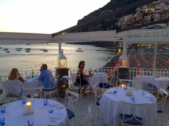 Beautiful setting - Picture of Rada Restaurant, Positano - TripAdvisor