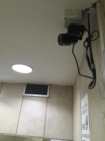 San Nicola la Strada, Italie : Telecamera negli spogliatoi
