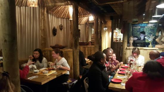 African Atmosphere At Knights Kitchen Picture Of Knights