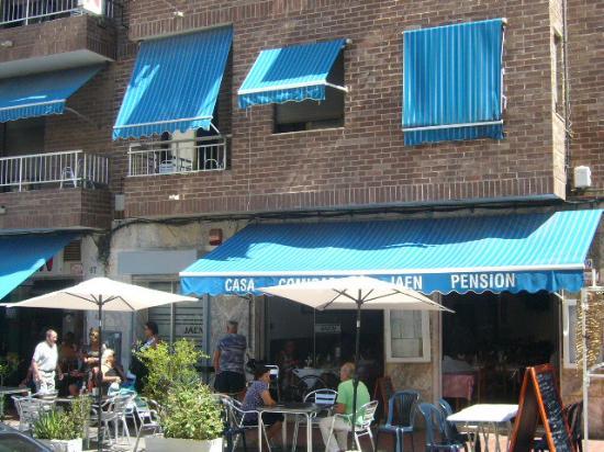Restaurante Jaen: extrerior 2