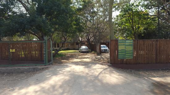 nDzuti Safari Camp : entrada