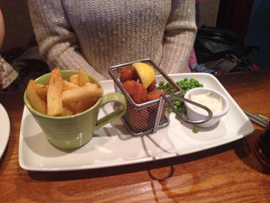 Abbot's Inch: Scampi & chips